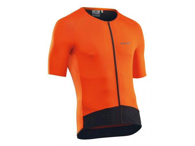 Cyklodres NORTHWAVE Essence Jersey Short Sleeves Orange