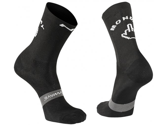 Cykloponožky NORTHWAVE Sunday Monday Sock Black