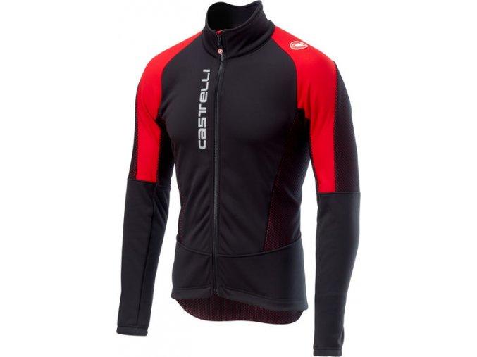 Castelli - pánská bunda Mortirolo V, black/red