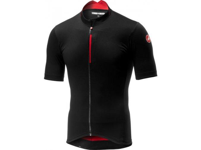 Castelli - pánský dres Espresso, black/red