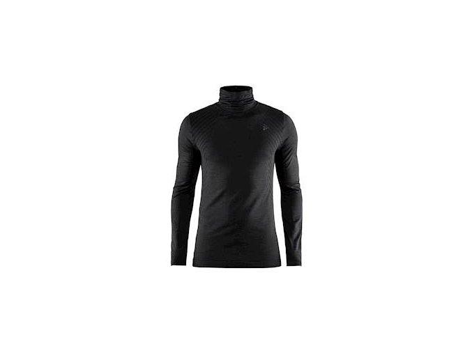 Triko CRAFT Fuseknit Comfort Turtleneck černá XL