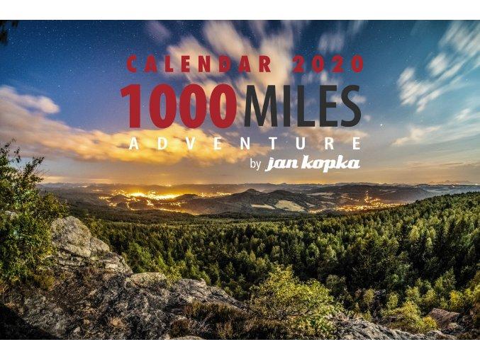 Kalendář 1000 Miles 2020