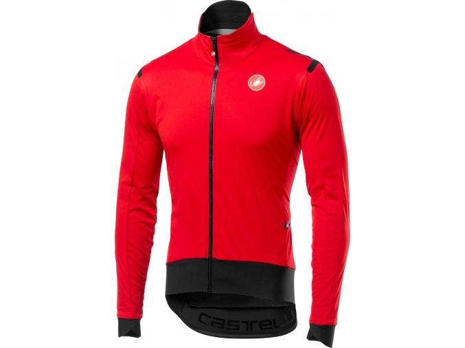 Castelli - pánská bunda Alpha RoS Light red/black