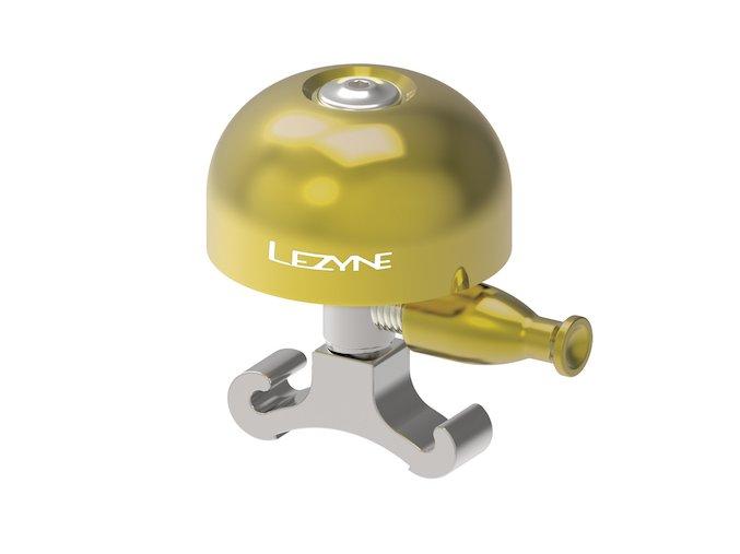 zvonek classic brass bell silver 1