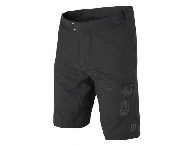 Etape - pánské volné kalhoty FREERIDE, černá