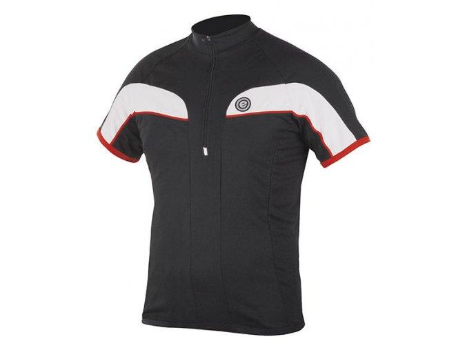 Etape - pánský dres FACE, černá/červená