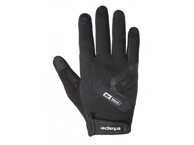 Etape - rukavice FOX+, černá