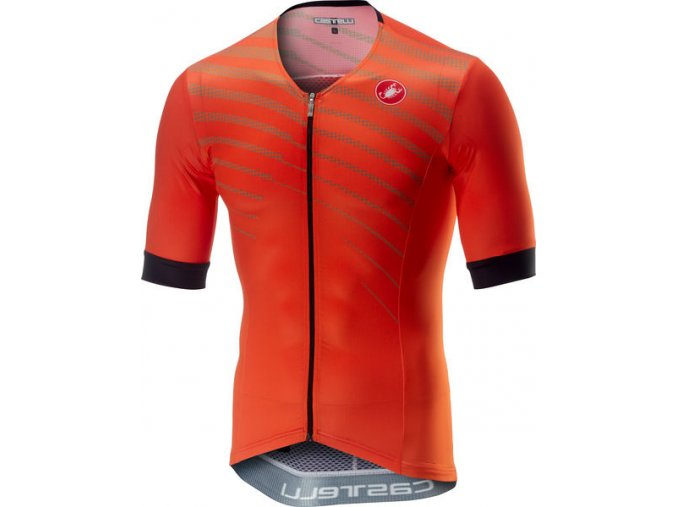 Castelli - triatlonový dres Free Speed Race, orange