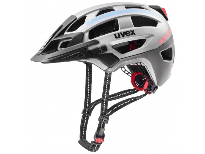 20 UVEX HELMA FINALE LIGHT, SILVER 57-61