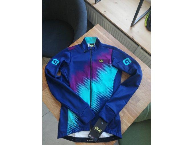 Zimní cyklistický dres ALÉ dámský MAGLIA DONNA M/L PULSE