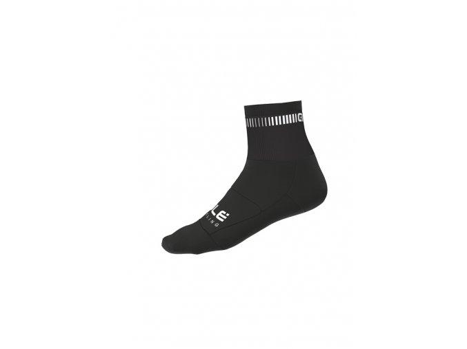 Cyklistické ponožky ALÉ   LOGO Q-SKIN SOCKS
