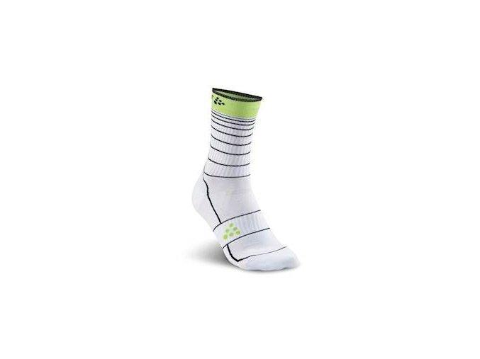 Ponožky CRAFT Gran Fondo bílá 37-39