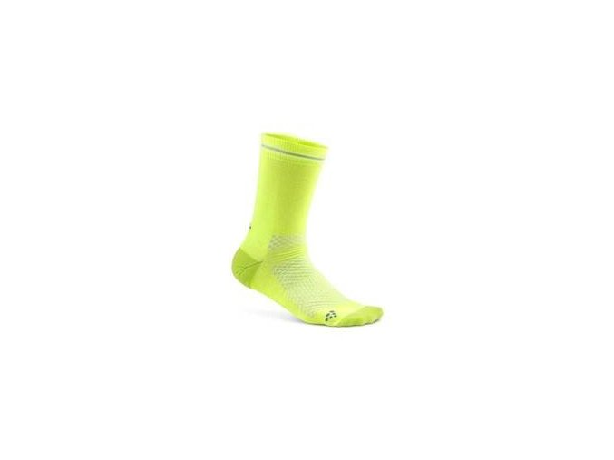 Ponožky CRAFT Visible žlutá 34-36
