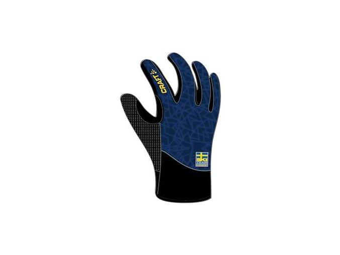 Rukavice CRAFT Ski Team Intensity tmavě modrá