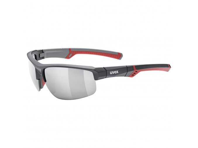 20 UVEX BRÝLE SPORTSTYLE 226, GREY RED/MIRROR SILVER (5316)
