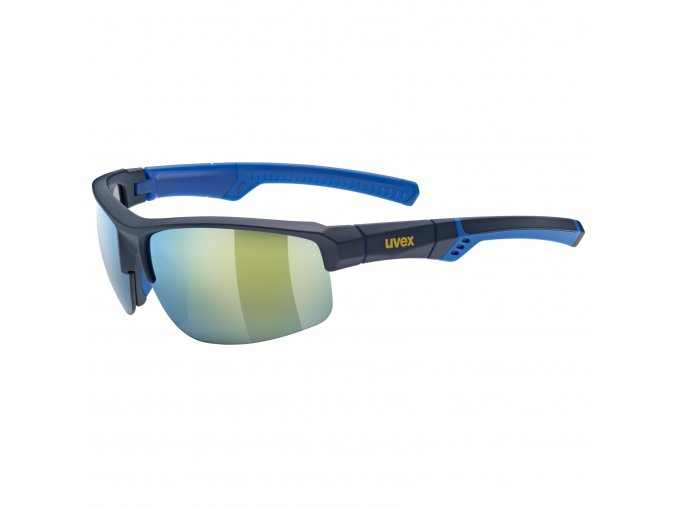 20 UVEX BRÝLE SPORTSTYLE 226, BLUE/MIRROR YELLOW (5517)