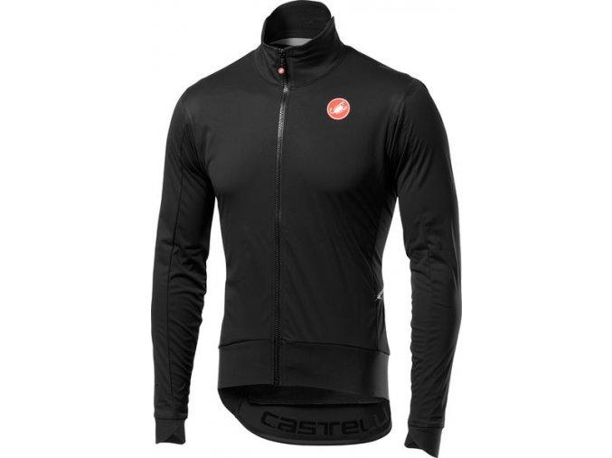Castelli – pánská bunda Alpha RoS Light, light black/black