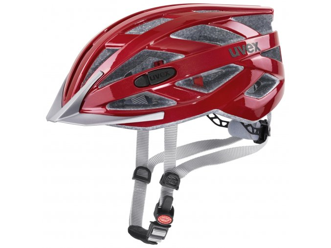20 UVEX HELMA I-VO 3D, RIOT RED