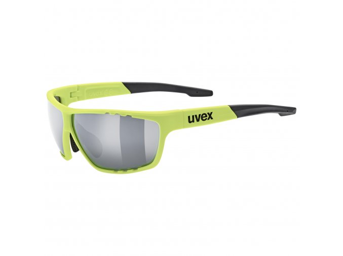 20 UVEX BRÝLE SPORTSTYLE 706, NEON YELLOW/SILVER (6616)