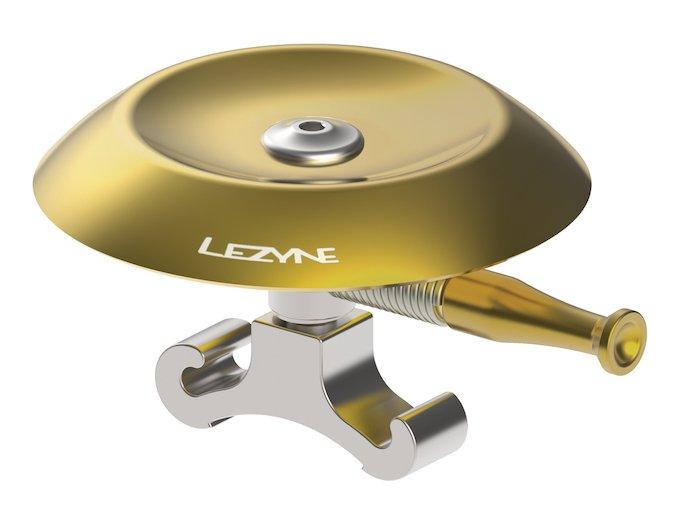 zvonek classic shallow brass bell silver
