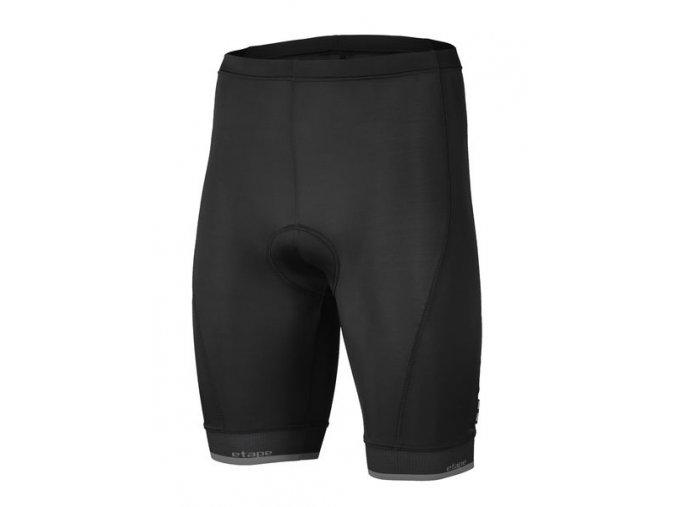 Etape – pánské kalhoty ELITE, černá|antracit