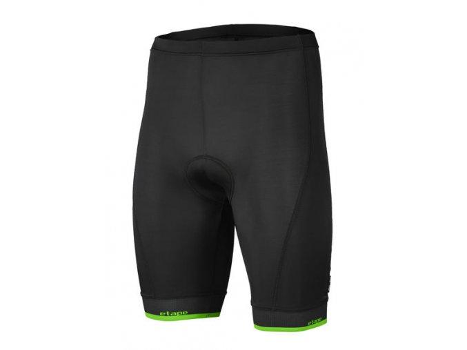 Etape – pánské kalhoty ELITE, černá|zelená