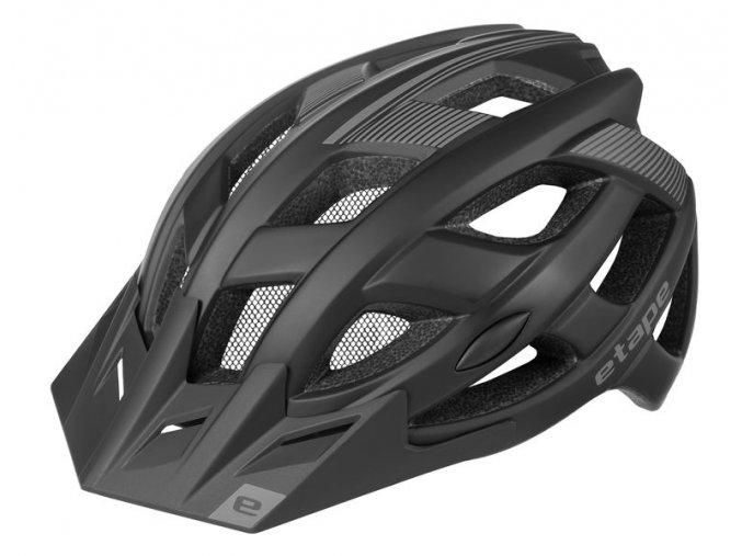 Etape – cyklistická přilba ESCAPE, černá mat