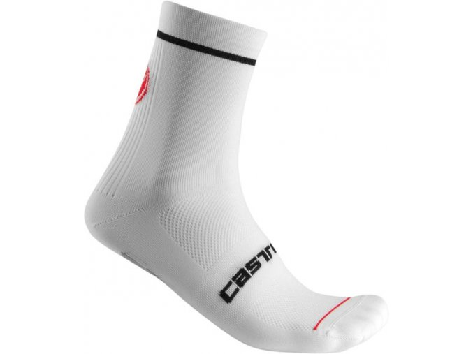 Castelli – pánské ponožky Entrata 9, white