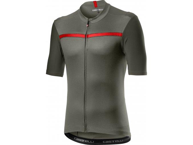 Castelli - pánský dres Unlimited, forest grey