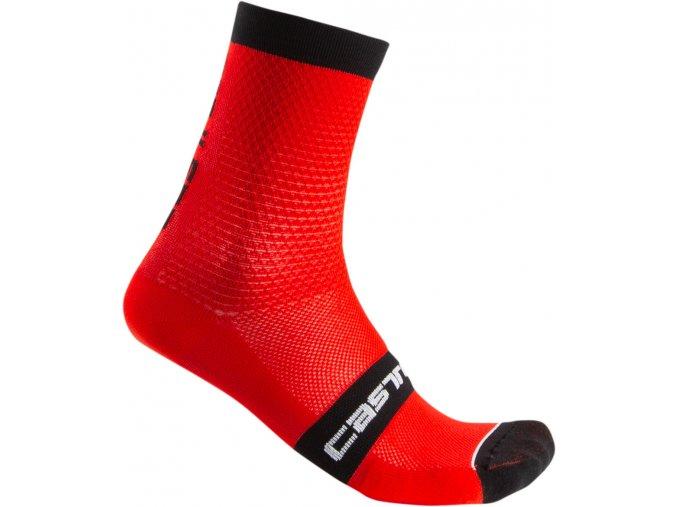 Castelli - pánské ponožky Superleggera 12, red