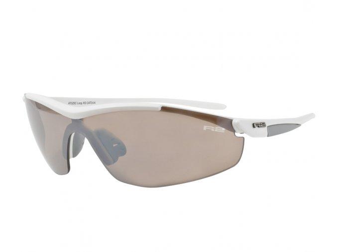 Sportovní sluneční brýle R2 LOOP XS bílé AT025C