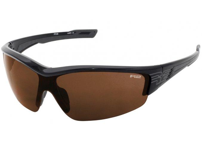 Sportovní sluneční brýle R2 WHEELLER černé AT038