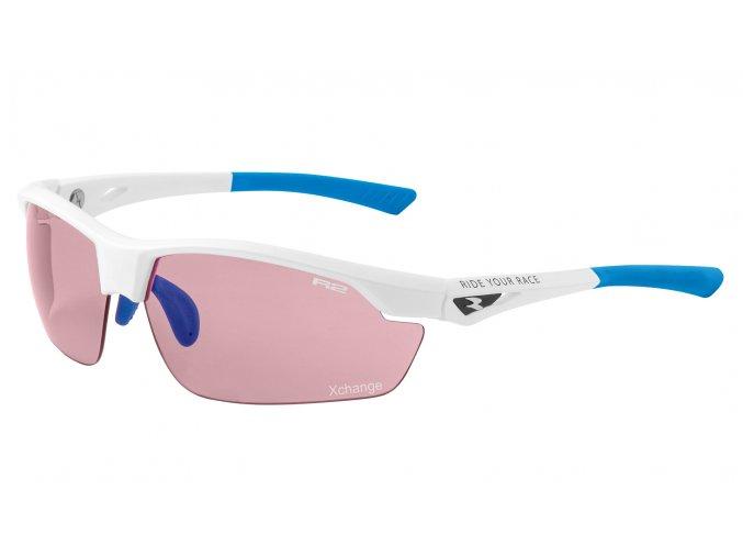 Sportovní sluneční brýle R2 ZET bílé AT085A