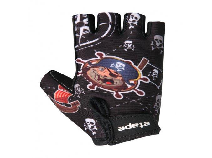 Etape - dětské rukavice TINY, černá