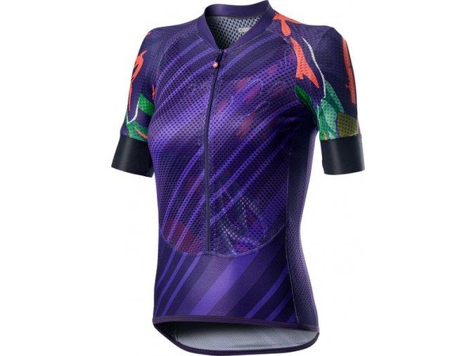 Castelli - dámský dres Climber's, deep purple