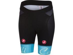 Castelli - dámské kalhoty Free Aero, black/sky blue