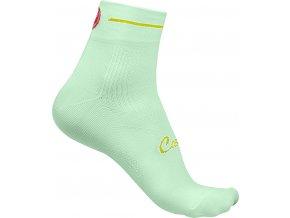 Castelli - dámské ponožky Maestro, pastel mint