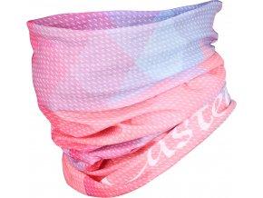 Castelli - multifunkční nákrčník Head Thingy, alba pink