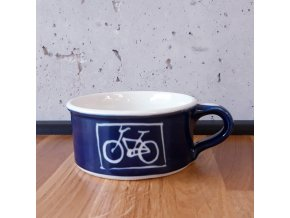 Cyklistický hrnek na kávu / čaj široký