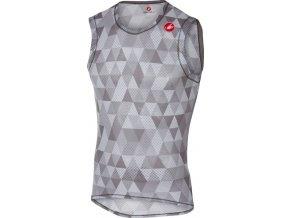 Castelli - pánské funkční prádlo Pro Mesh, multicolor gray