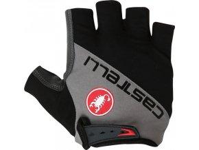 Castelli - pánské rukavice Adesivo, black/anthracite