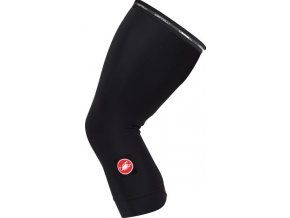 Castelli – návleky na kolena Thermoflex, black