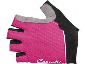 Castelli - dámské rukavice Roubaix W Gel, alba pink