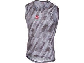 Castelli - pánské funkční prádlo PRO MESH bez rukávů, gray