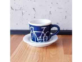 Cyklistický šálek na espresso (velké kolo) 90 ml