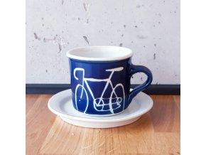 Cyklistický hrnek na kávu / čaj (velké kolo) 250 ml