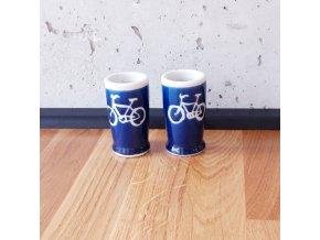 Cyklistický panák modrý