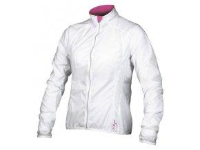 Etape - dámská větrovka GLORIA, bílá/růžová