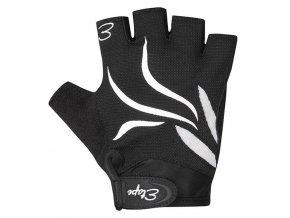Etape - dámské rukavice ANNIE, černá/bílá