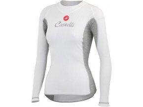 ea8c0ee71 Castelli - dámské funkční prádlo Flanders Warm LS, white